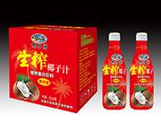 碧海椰子园椰子汁蛋白饮品1.25lx6瓶