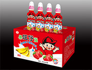 国旺仔强营养果汁酸奶饮品200mlx24瓶