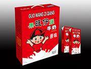 国旺仔强营养果汁酸奶饮品250mlx16瓶