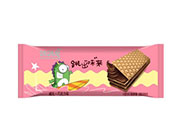跳跳龙跳出味来巧克力夹心威化饼干