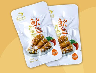闽南渔港香嫩鱿鱼烧烤味15g