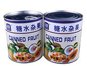 冠荣杂果水果罐头