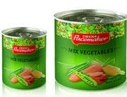 百事美特混合蔬菜罐头