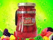 乐万家678g糖水草莓罐头