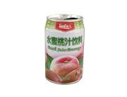 强力水蜜桃汁饮料278ml