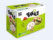 菩提毛豆五香味陈列盒30g每包×20包