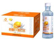佰润柠檬C苏打水400mlx20瓶