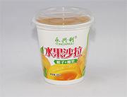 水果沙拉桃子椰果