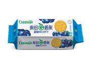 川岛果纷香果蓝莓夹心饼干95g