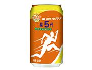 达威星5代鲜橙多碳酸饮料罐装