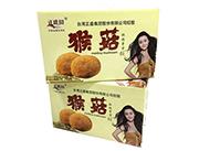 正盛圆猴菇粗粮素食饼箱装