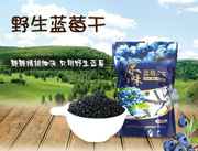 原味野生蓝莓果干