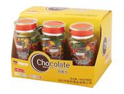 俩哈罗巧克力豆108g×9瓶装