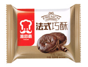 雅思嘉法式巧酥巧克力味饼干散装