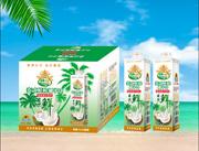 椰果时代泰式鲜榨椰子汁1Lx8