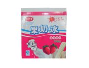 雪中雪草莓味果奶冰果味饮料