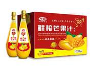 予晨鲜榨芒果汁1.5Lx6瓶
