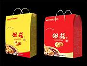 猴菇养生粥手提袋组合