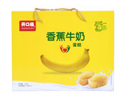 开口福香蕉牛奶糕点516克