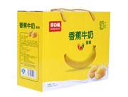 开口福香蕉牛奶糕点516克侧面