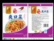 新繁红油爽口菜100克