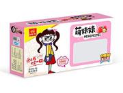 萌妹妹草莓味甜甜圈40g