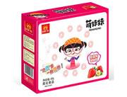 萌妹妹草莓味甜甜圈40克