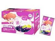 古迪北海道乳球心糖系列-葡萄