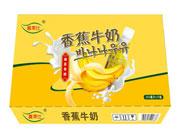 喜莱仕香蕉牛奶箱装