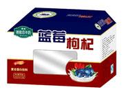 晨铭蓝莓枸杞果味饮料箱