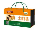 晨铭木瓜牛奶木盒