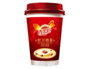 晨铭香果粒红豆奶茶60g