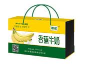 晨铭香蕉牛奶木盒