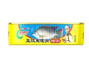 欢乐家138克豆豉鱼罐头