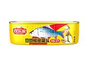 欢乐家227克豆豉鲮鱼罐头