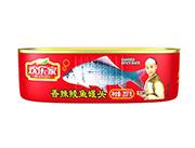 欢乐家207克香辣鲮鱼罐头