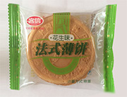 客信花生味法式薄饼