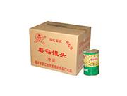 新喜家箱装蘑菇罐头