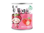 晨辉草莓罐头248克