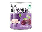 晨辉葡萄罐头248g