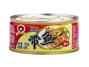 新喜家豆香带鱼罐头150g