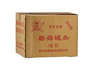 新喜家蘑菇罐头(整菇)整箱