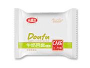 吉盛园牛奶豆腐蛋糕