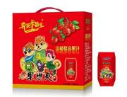 果然爽山楂复合果汁手提礼盒