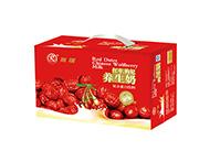 雨瑞红枣枸杞养生奶饮料普装手提礼箱250mlx20盒