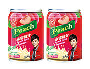 雨瑞水蜜桃汁饮料245ml