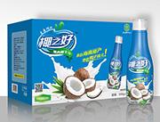 椰之好瓶装500g果肉椰子汁