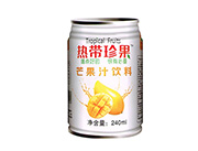 热带珍果芒果汁饮料
