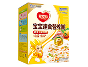 爱婴谷宝宝速食营养粥(胡萝卜猪肉粥)