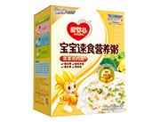 爱婴谷宝宝速食营养粥(菠菜鸡肉粥)